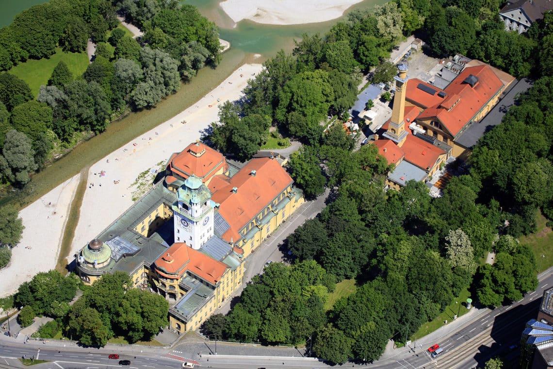 DATA festival Location - Muffatwerk München